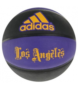 Basketbalový míč Adidas LA Lakers