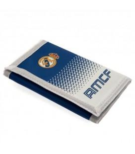 Peněženka Real Madrid - bílá/modrá
