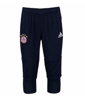 Tréninkové tříčtvrteční kalhoty Bayern Mnichov - tmavomodrá