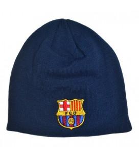 Čepice FC Barcelona - tmavomodrá