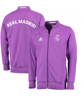 Real Madrid - mikina na zip - fialová