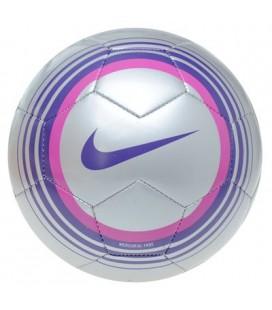 Fotbalový míč Nike Mercurial Fade -stříbrná