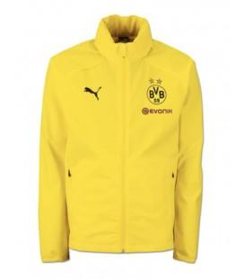 Nepromokavá větrovka Borussia Dortmund - žlutá