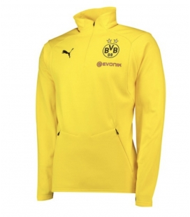 Flísová větrovka Borussia Dortmund - žlutá