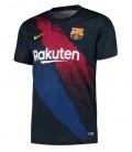 Předzápasový dres FC Barcelona - tmavomodrá