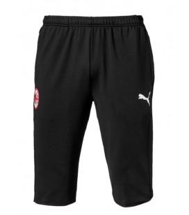 Tříčtvrteční kalhoty AC Milán - černá