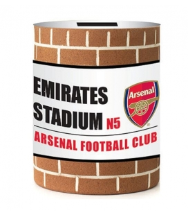Spornička ve tvaru plechovky Arsenal Londýn