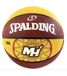 Basketbalový míč Spalding Miami Heat