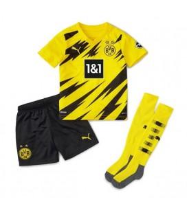 Borussia Dortmund domácí dětský fotbalový dres + trenýrky + stulpny