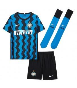 Inter Milán domácí dětský fotbalový dres + trenýrky + stulpny