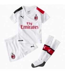 AC Milán venkovní dětský fotbalový dres + trenýrky + stulpny