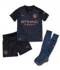 Manchester City venkovní dětský fotbalový dres + trenýrky + stulpny