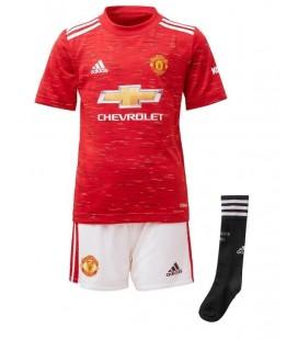 Manchester United domácí dětský fotbalový dres + trenýrky + stulpny