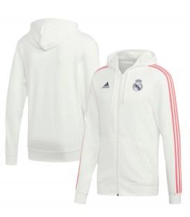 Mikina na zip s kapucí Real Madrid