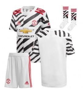 Manchester United třetí dětský fotbalový dres + trenýrky + stulpny