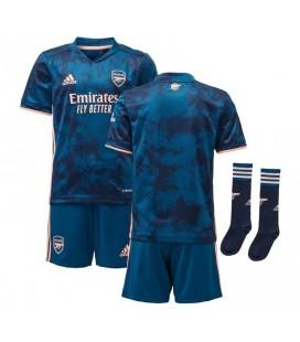 Arsenal Londýn třetí dětský fotbalový dres + trenýrky + stulpny