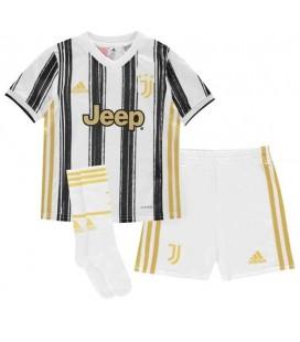 Juventus Turin domácí dětský fotbalový dres + trenýrky + stulpny