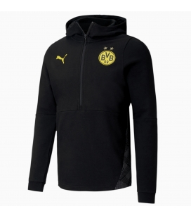 Mikina s kapucí na zip Borussia Dortmund