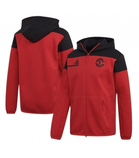 Mikina na zip s kapucí Manchester United