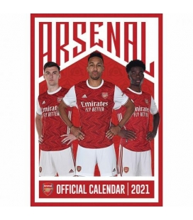 Kalendář Arsenal Londýn na rok 2021