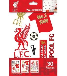 Nálepky na stěnu FC Liverpool