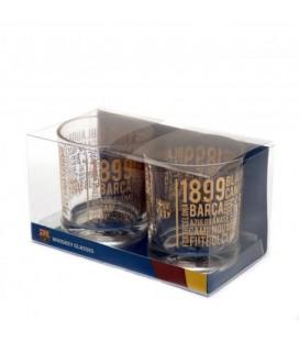 Sklenice na whisky FC Barcelona