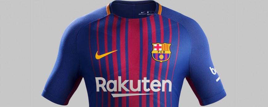 Prišli nové dresy FC Barcelona 2017/18