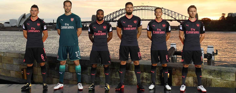 Nové dresy Arsenal Londýn 2017/18