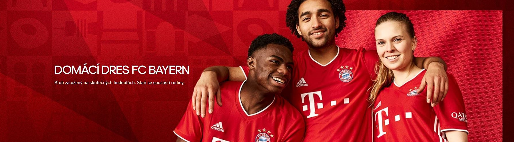 Bayern Mnichov domácí dres 2020/21