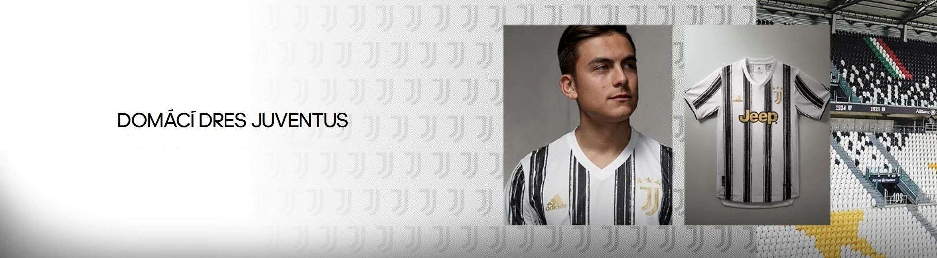 Juventus domácí dres 2020/21