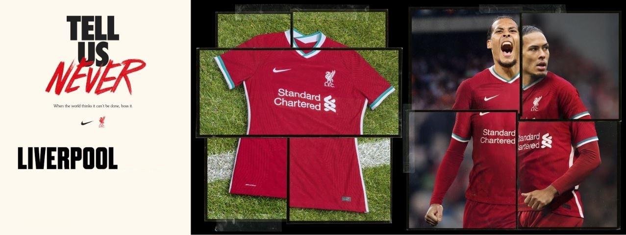 FC Liverpool domácí dres 2020/21