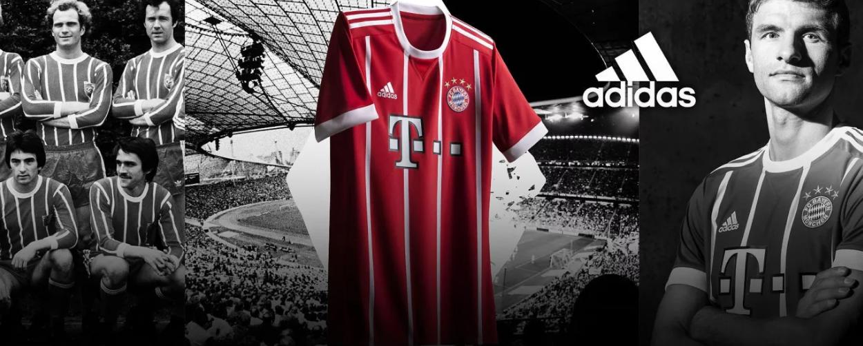 Nové dresy Bayern Mnichov 2017/18