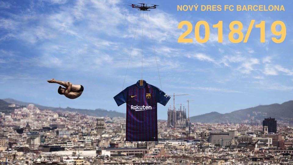 Nové dresy FC Barcelona 2018/19